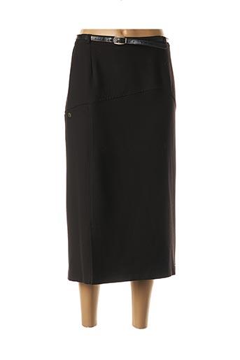 Jupe longue noir ATLANTA pour femme