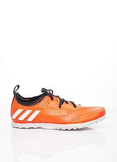 Baskets orange ADIDAS pour homme
