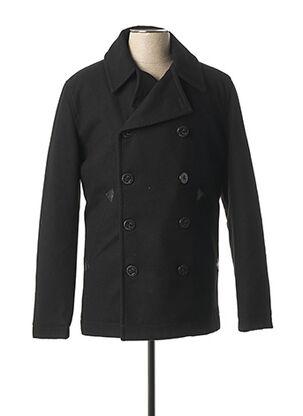 Manteau court noir FREEMAN T.PORTER pour homme