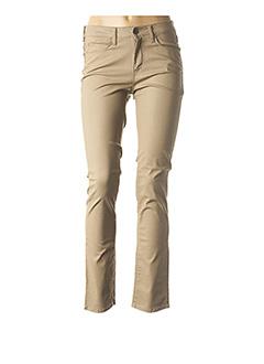 Pantalon chic beige KANOPE pour femme