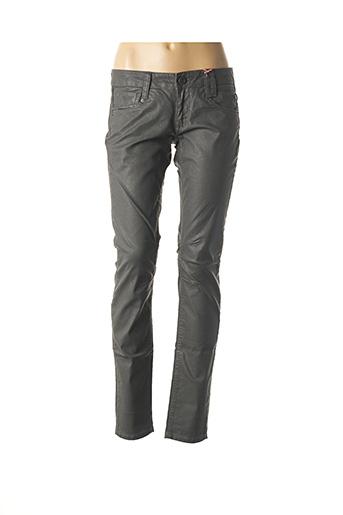 Pantalon chic gris FREEMAN T.PORTER pour femme