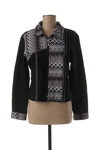 Veste chic / Blazer noir FIGURE LIBRE pour femme