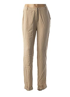 Pantalon chic beige AMERICAN VINTAGE pour femme