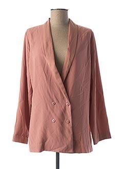 Veste chic / Blazer rose REIKO pour femme