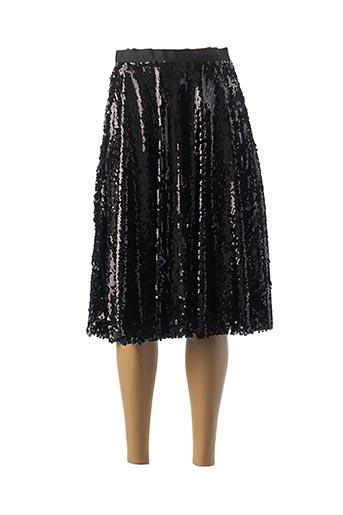 Jupe mi-longue noir BRIGITTE BARDOT pour femme
