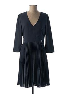 Robe courte bleu TRUSSARDI JEANS pour femme