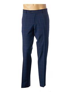 Pantalon casual bleu CARL GROSS pour homme