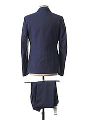 Costume de ville bleu MANUEL RITZ pour homme seconde vue
