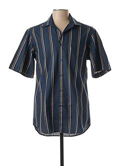 Chemise manches courtes bleu BANDE ORIGINALE pour homme