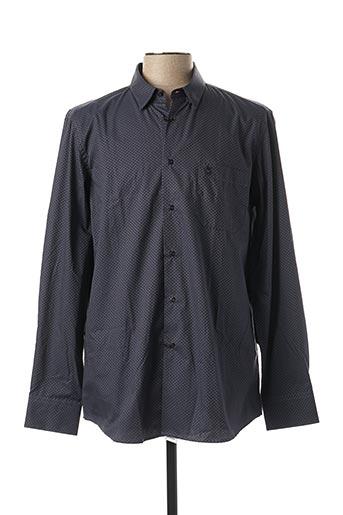 Chemise manches longues bleu BANDE ORIGINALE pour homme