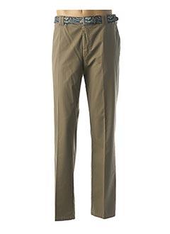 Pantalon chic vert MEYER pour homme