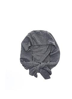 Bonnet gris TCHEKA pour femme