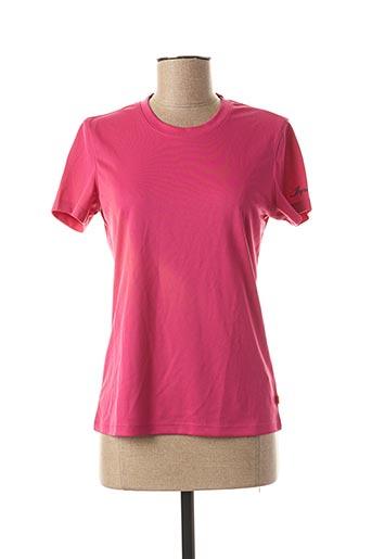 T-shirt manches courtes rose ICEPEAK pour femme