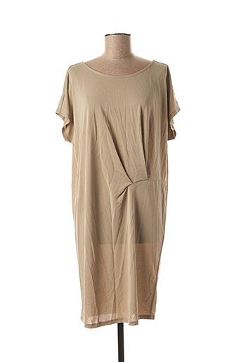 Robe mi-longue vert YAYA pour femme
