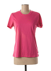 T-shirt manches courtes rose ICEPEAK pour femme seconde vue