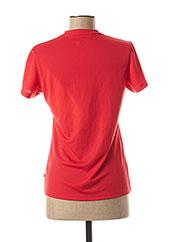 T-shirt manches courtes rouge ICEPEAK pour femme seconde vue