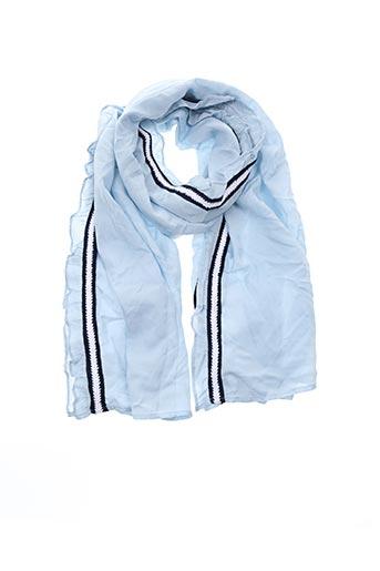 Foulard bleu YAYA pour femme