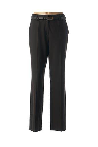 Pantalon chic marron FRANK WALDER pour femme
