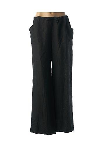 Pantalon chic noir GIORGIA NETTI pour femme