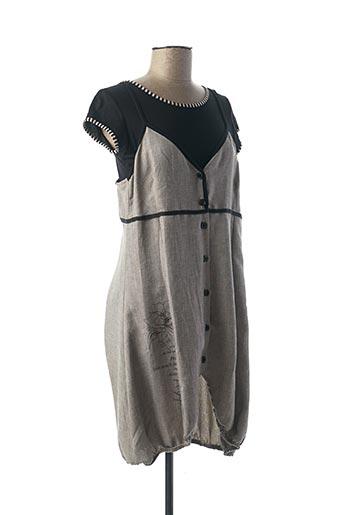 Robe mi-longue gris COYOTE GIRLS pour femme