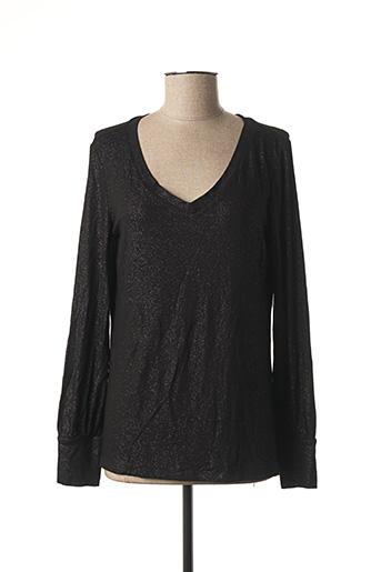 T-shirt manches longues noir ESPRIT pour femme