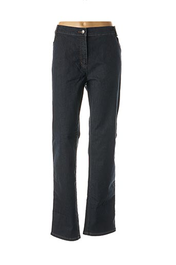 Pantalon casual bleu ADELINA BY SCHEITER pour femme