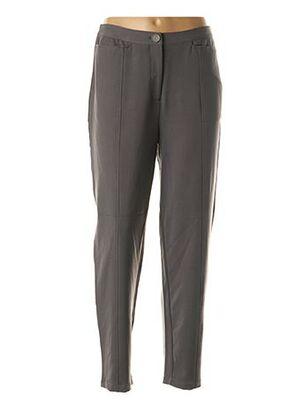 Pantalon 7/8 gris ENJOY pour femme
