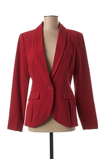 Veste casual rouge CREAM pour femme
