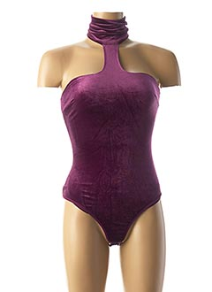 Body violet MARCIANO pour femme