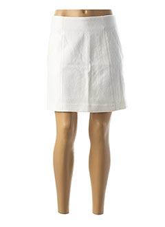 Jupe courte blanc NAF NAF pour femme