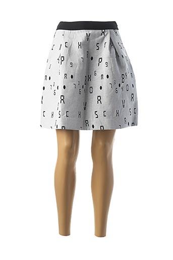 Jupe mi-longue gris COP COPINE pour femme