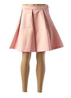 Jupe courte rose GUESS pour femme