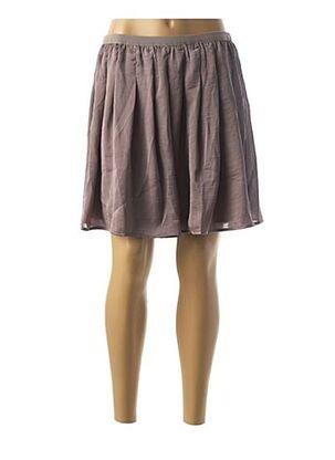 Jupe courte gris BALSAMIK pour femme
