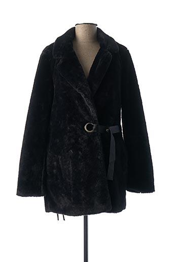 Manteau court noir COLLECTION IRL pour femme