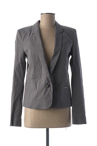 Veste chic / Blazer gris IKKS pour femme