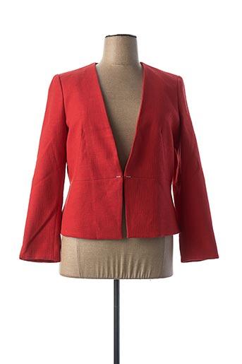 Veste chic / Blazer rouge MAISON 123 pour femme