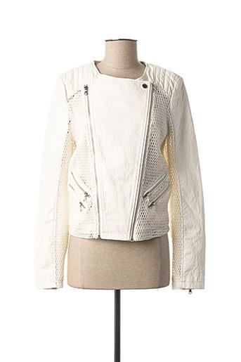 Veste casual blanc GUESS pour femme