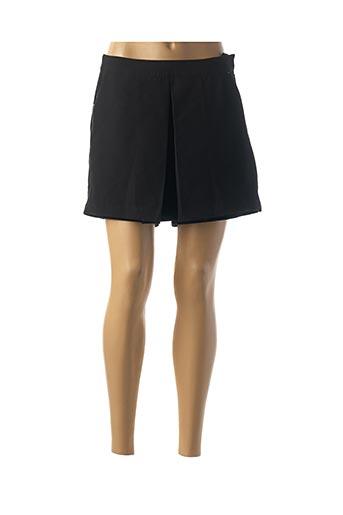 Jupe short noir CAMAIEU pour femme
