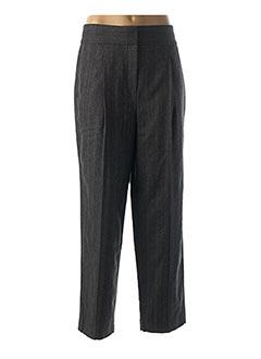 Pantalon casual gris CAROLL pour femme