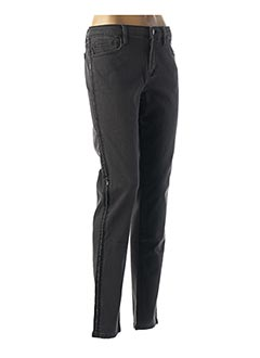 Jeans coupe slim gris NAF NAF pour femme