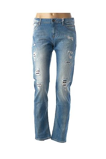 Jeans coupe slim bleu GUESS pour fille
