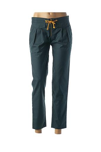 Pantalon casual vert KARL MARC JOHN pour femme