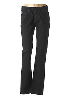 Jeans coupe droite noir LEE pour homme
