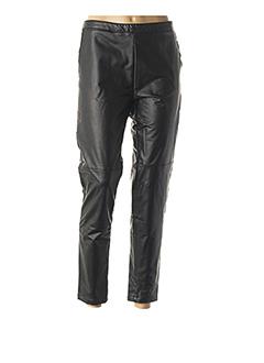 Pantalon 7/8 noir GARELLA pour femme