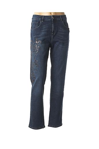 Jeans coupe slim bleu TWINSET pour femme
