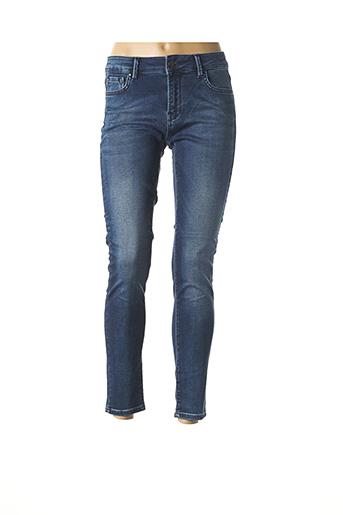 Jeans skinny bleu CULTURE pour femme