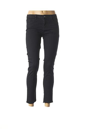 Pantalon 7/8 noir BEST MOUNTAIN pour femme