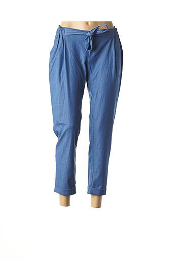 Pantalon 7/8 bleu COLLECTION IRL pour femme