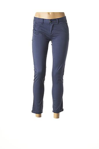 Pantalon 7/8 bleu DDP pour femme