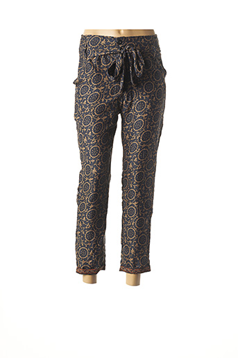 Pantalon 7/8 bleu IPANIMA pour femme